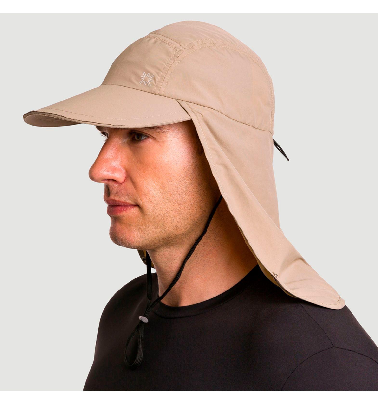 UV LINE Boné Legionário GD Masculino Kaki Proteção Solar
