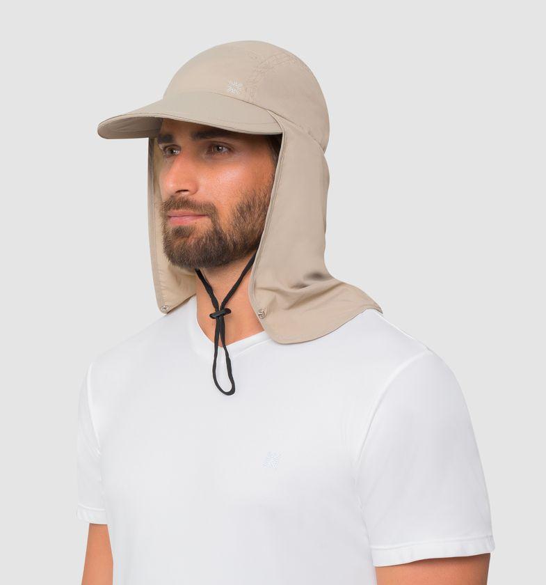 UV LINE Boné Legionário GD Masculino Proteção Solar