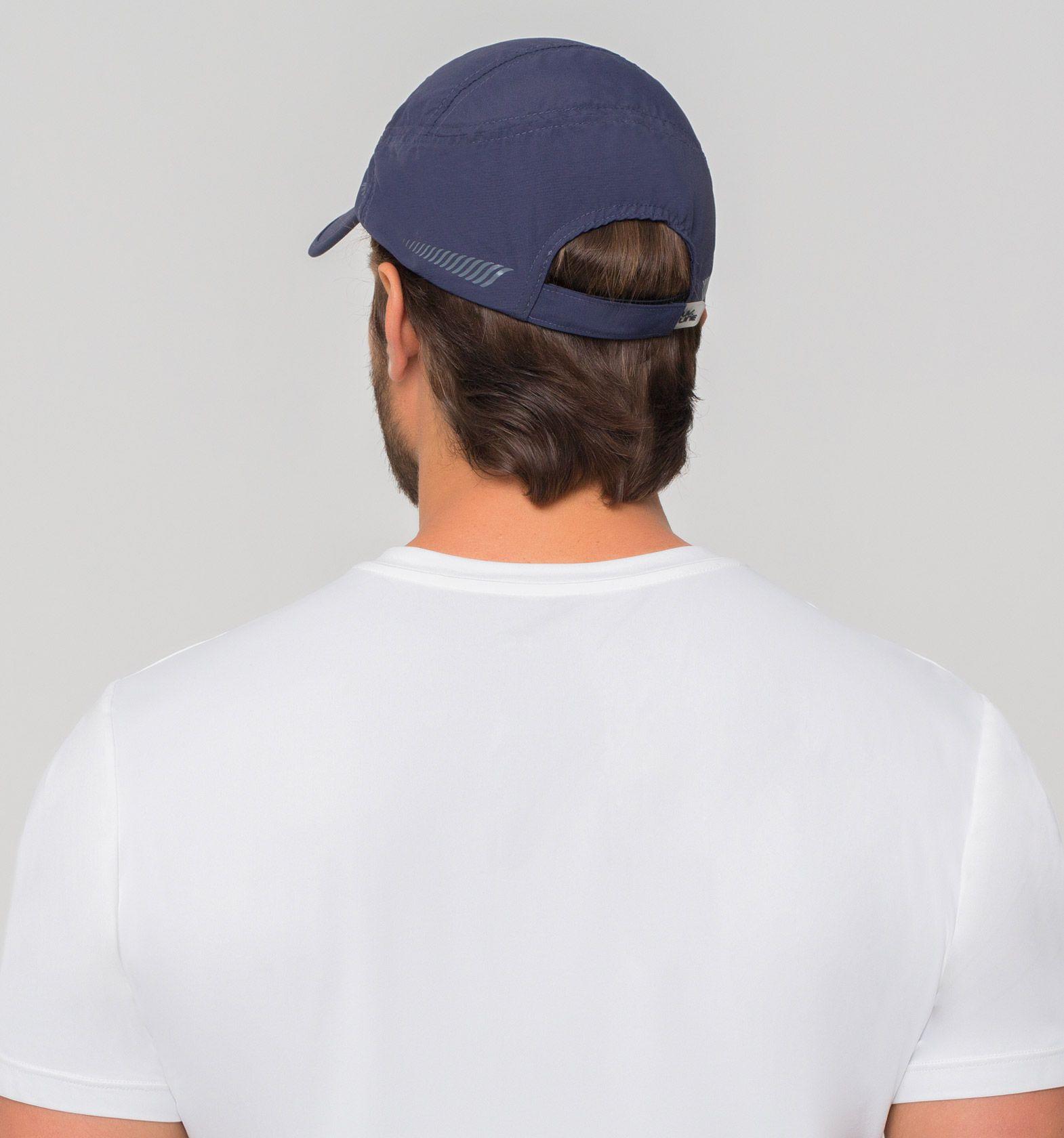 UV LINE Boné New Fit Masculino Marinho Proteção Solar
