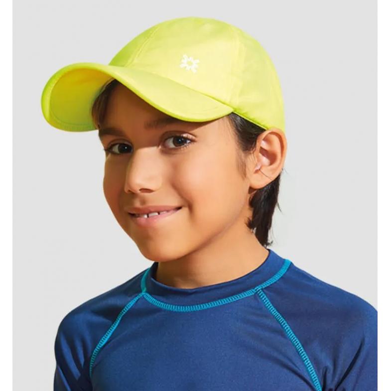 UV LINE Boné Teens Colors Infantil Amarelo Proteção Solar