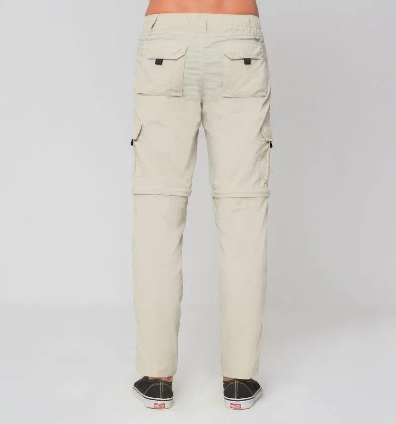 UV LINE Calça Chelsea Masculina Areia Proteção Solar
