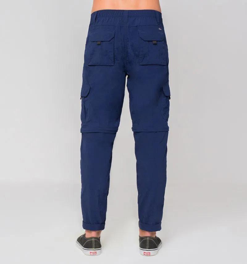 UV LINE Calça Chelsea Masculina Marinho Proteção Solar