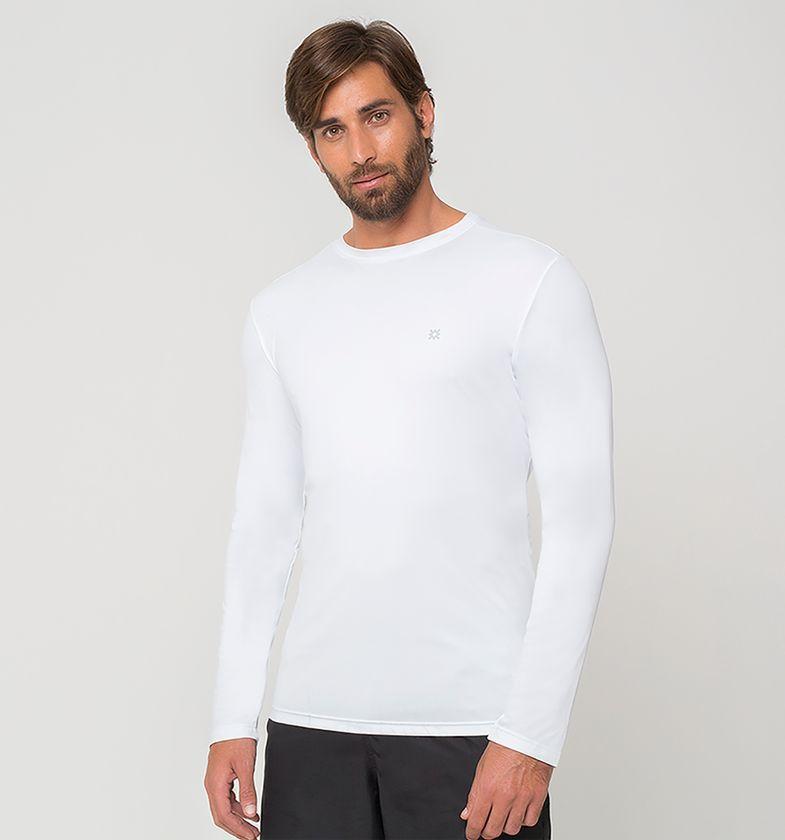 UV LINE Camiseta Masculina Manga Longa Uvpro Proteção Solar