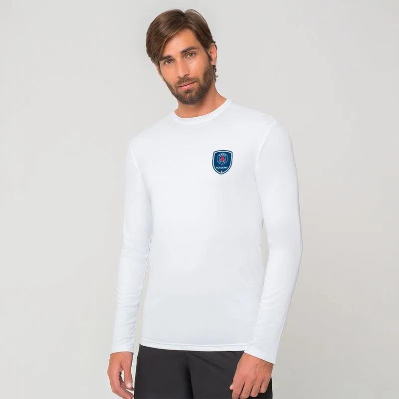 UV LINE Camiseta PARIS SAINT-GERMAIN Manga Longa Masculino Proteção Solar