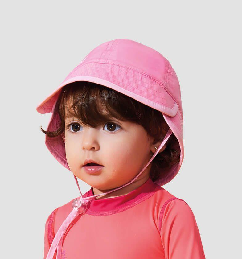 UV LINE Chapéu Baby Infantil Nude Proteção Solar
