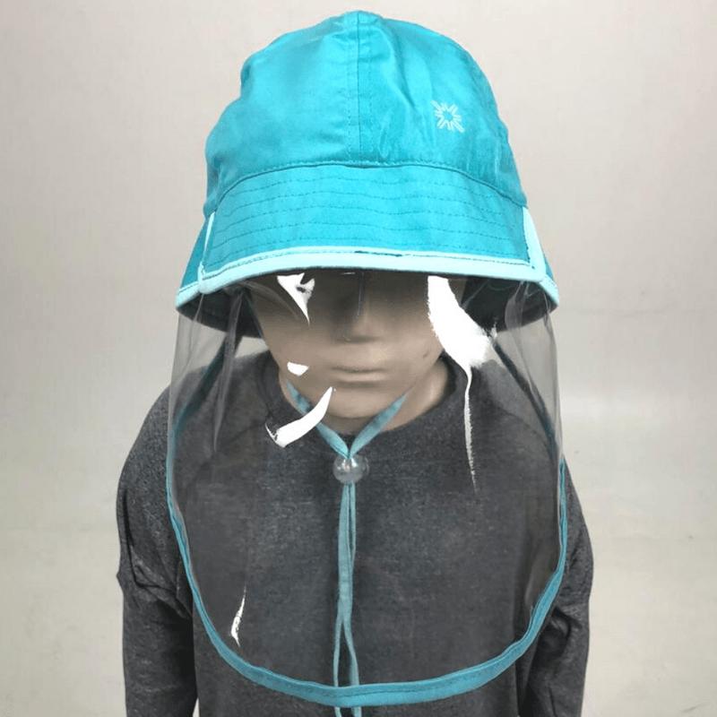 UV LINE Chapéu Baby Infantil Verde Mar Proteção Solar