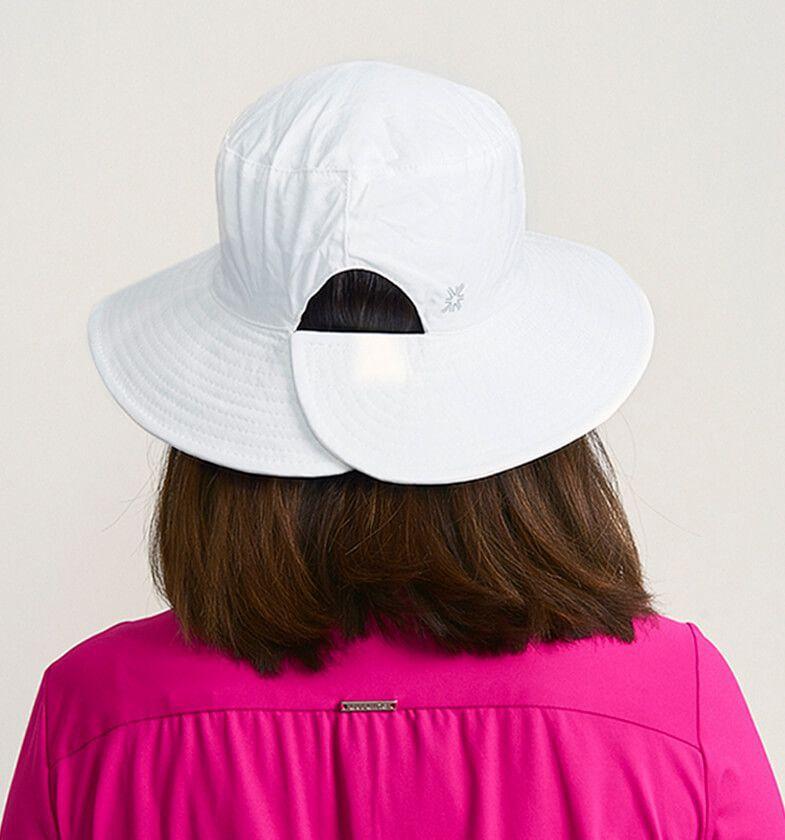 UV LINE Chapéu Califórnia Feminino Branco Proteção Solar