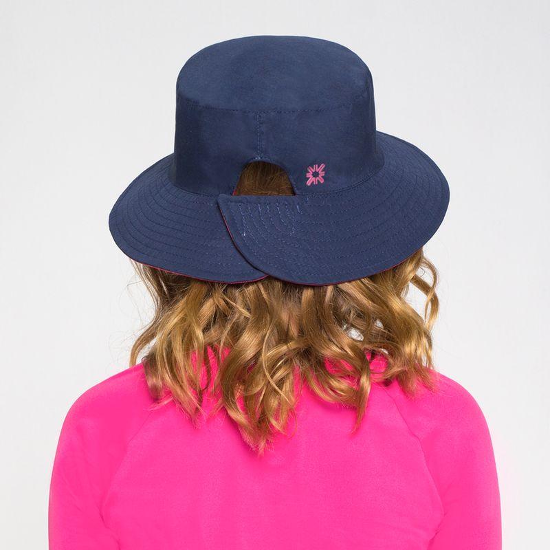 UV LINE Chapéu California Infantil Marinho/Pink Proteção Solar