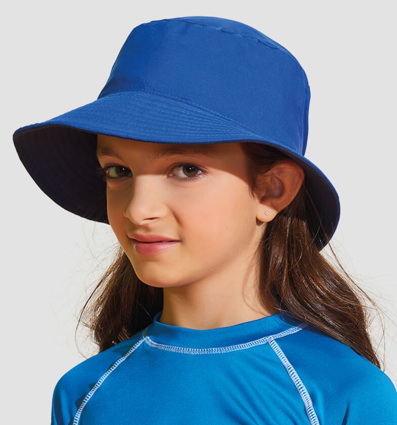UV LINE Chapéu Califórnia Infantil Proteção Solar