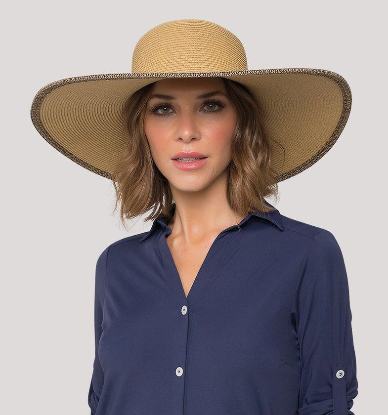 UV LINE Chapéu Caribe Feminino Proteção Solar