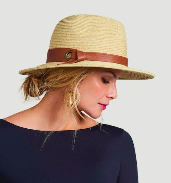 UV LINE Chapéu Giovana Feminino Areia Proteção Solar