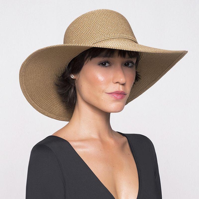 UV LINE Chapéu Jurerê Feminino Mescla Proteção Solar