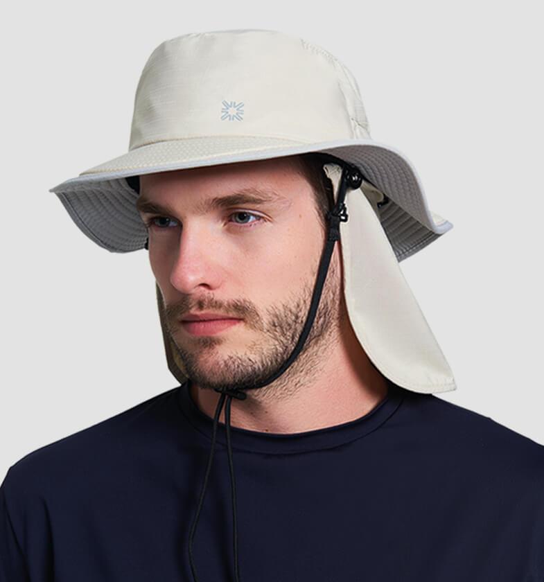 UV LINE Chapéu Kansas Masculino Areia Proteção Solar