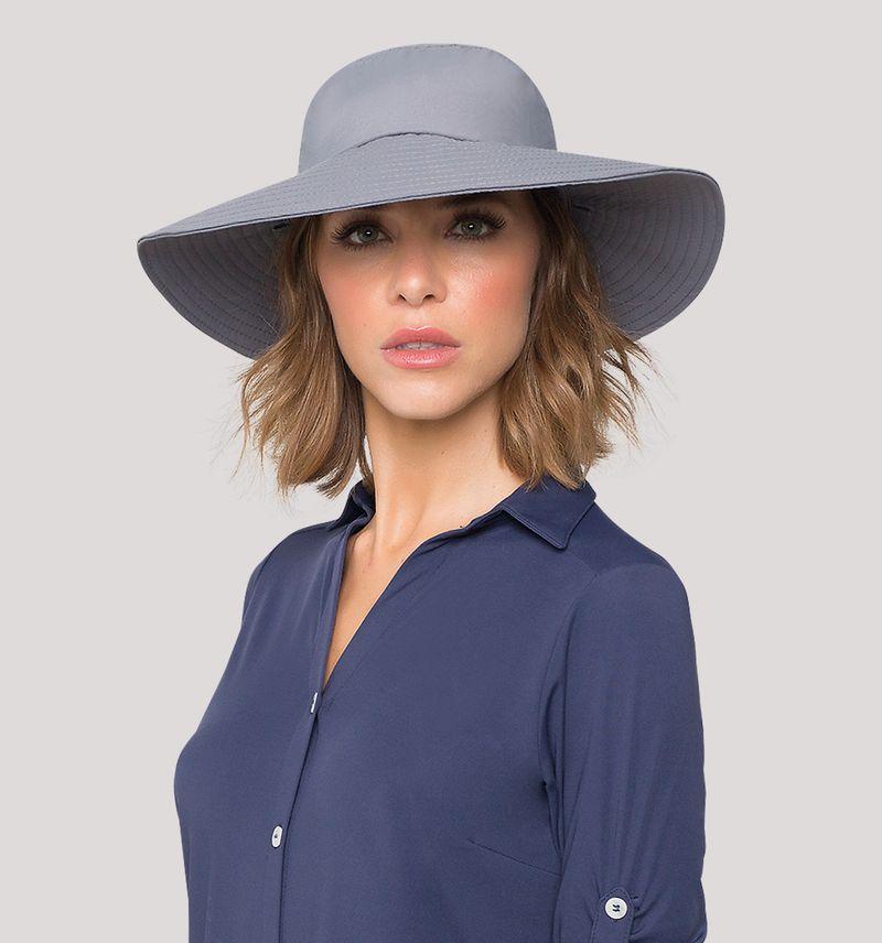 UV LINE Chapéu Lyon Feminino Chumbo Proteção Solar