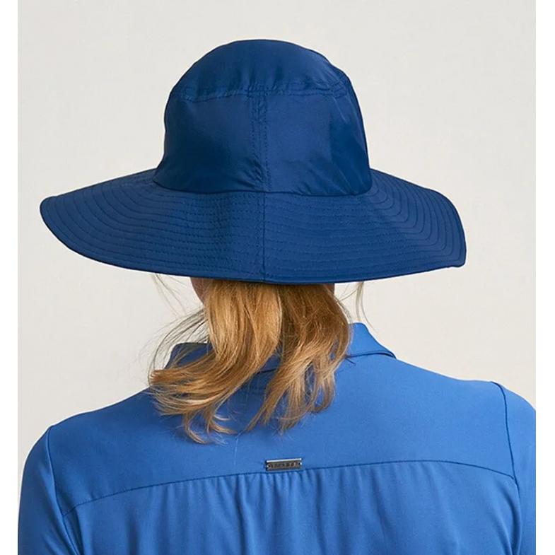 UV LINE Chapéu Lyon Feminino Marinho Proteção Solar