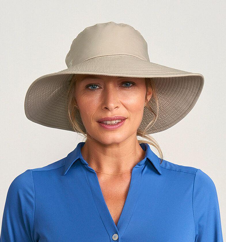 UV LINE Chapéu San Diego Feminino Areia Proteção Solar