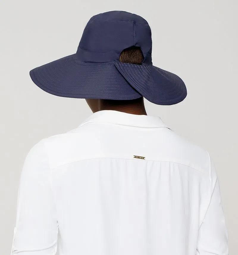 UV LINE Chapéu San Diego Feminino Marinho Proteção Solar