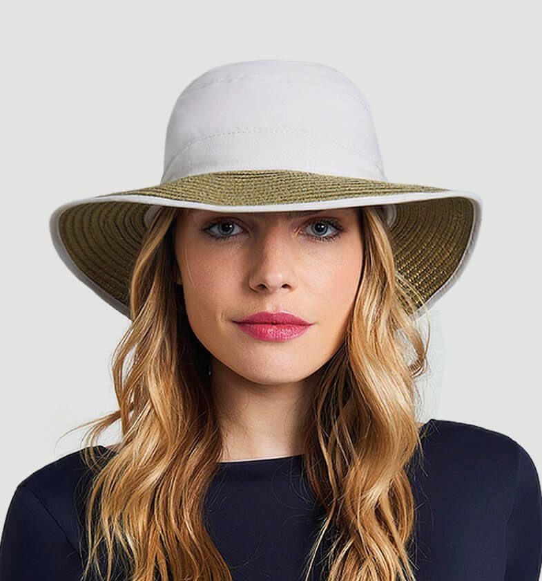 UV LINE Chapéu Thai Feminino Areia Proteção Solar