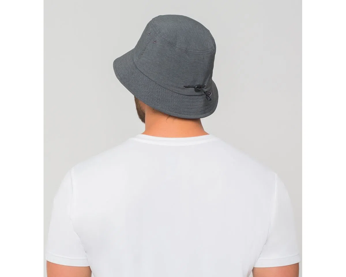 UV LINE Chapéu Toronto Colors Masculino Cinza Mescla Proteção Solar