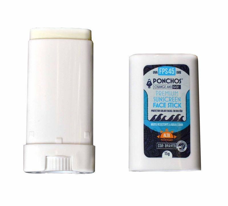 UV LINE Poncho Premium Face FPS45 Proteção Solar