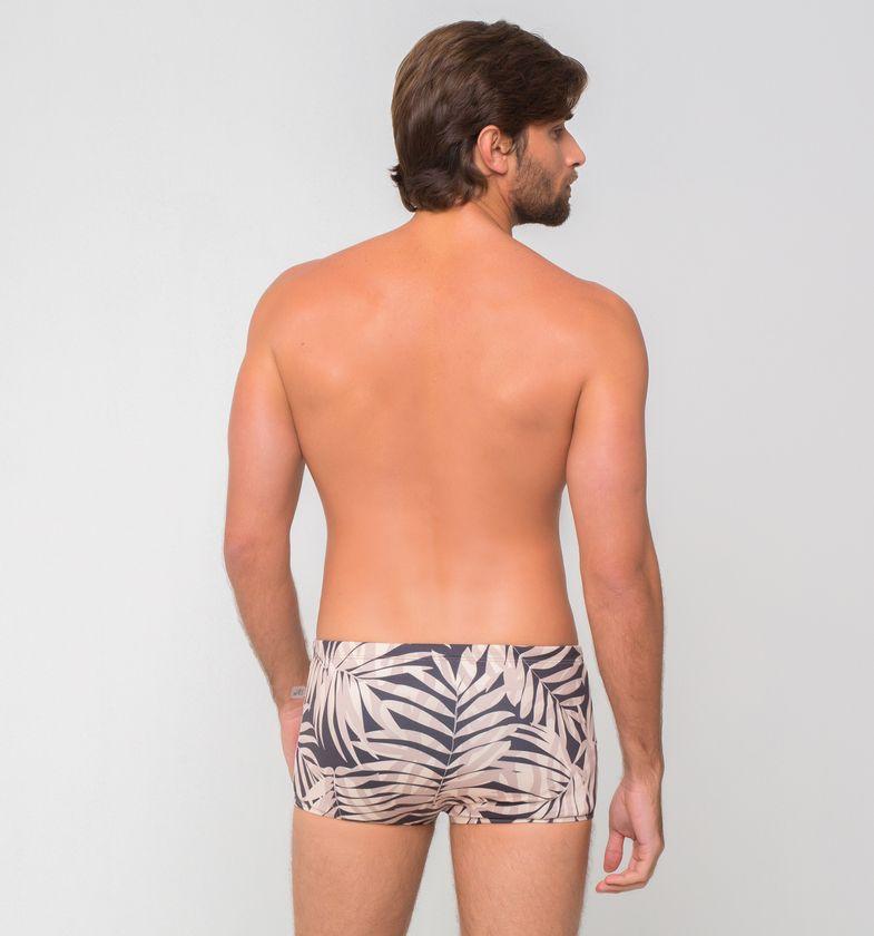 UV LINE Sunga Masculina Estampa Folhas Proteção Solar
