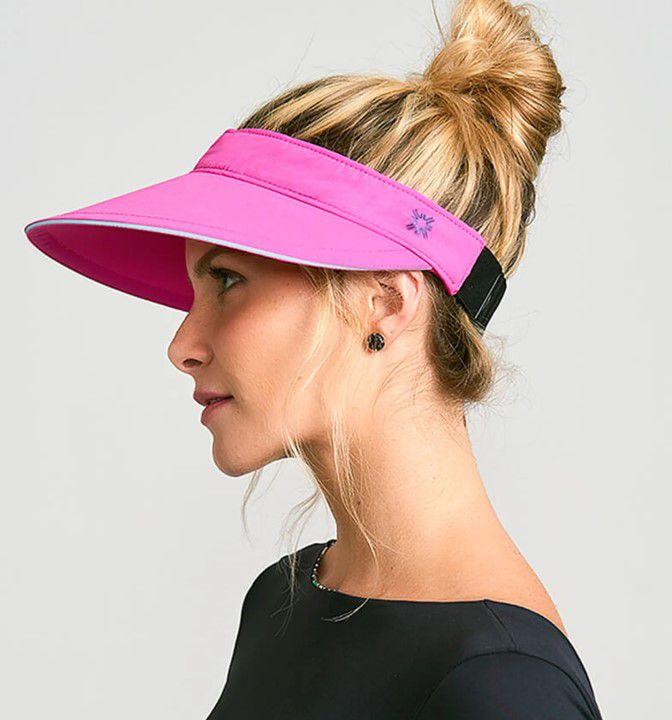 UV LINE Viseira Athleta Feminino Pink Proteção Solar