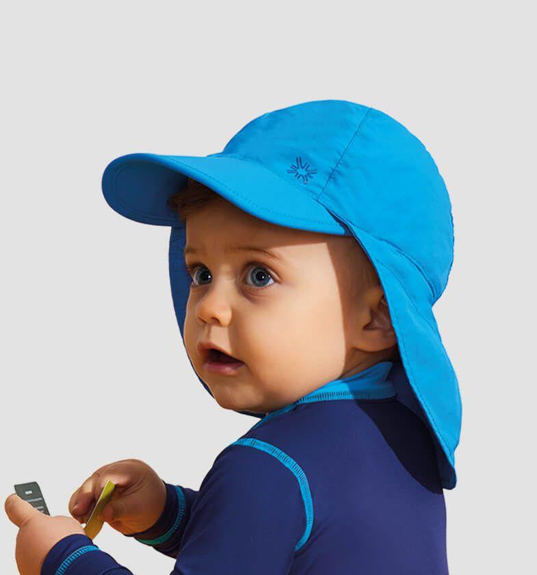 UV LINE Boné Legionário Basic Liso Infantil Proteção Solar