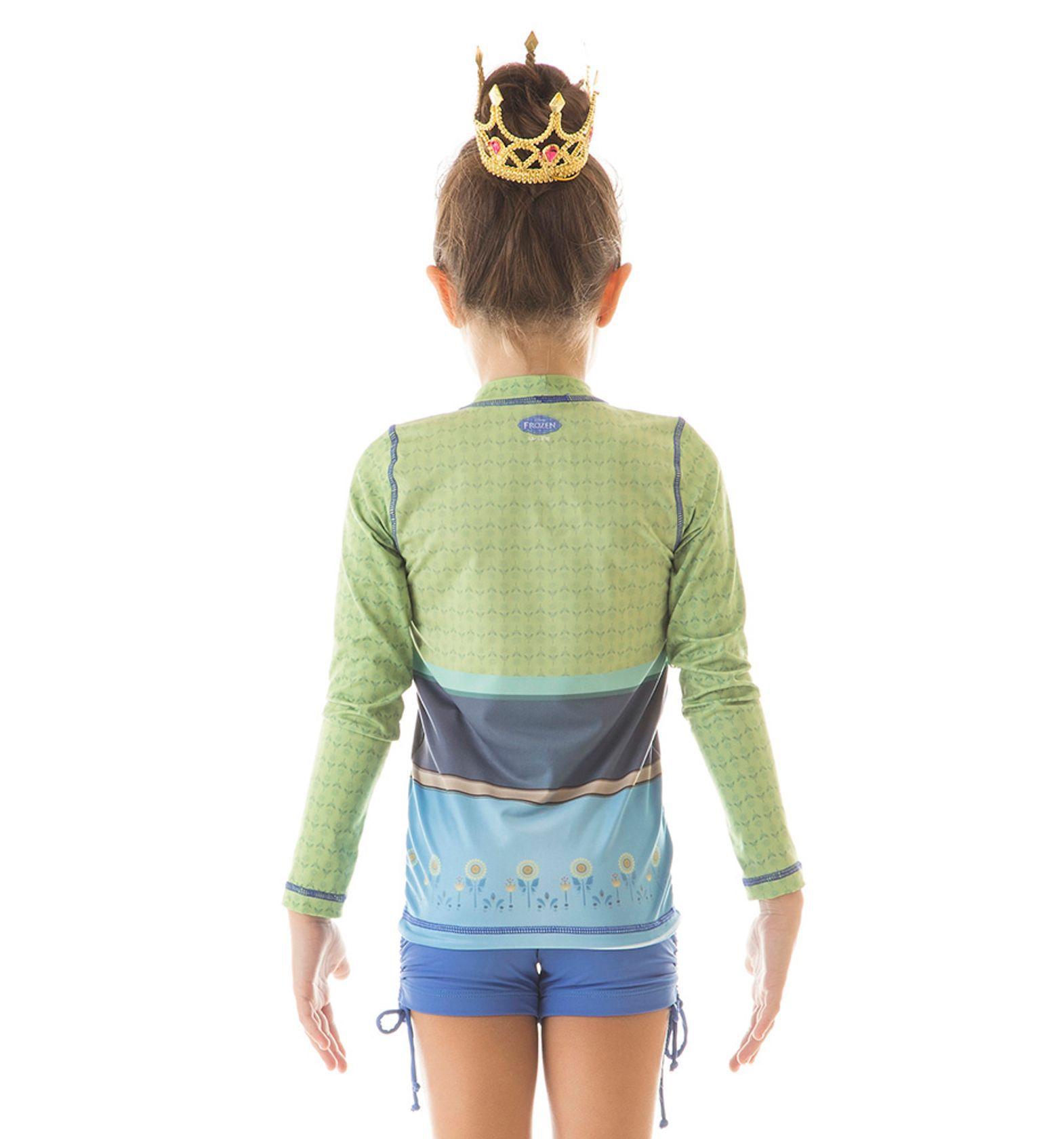 UV LINE Camiseta Acqua Anna Fever ML Infantil Proteção Solar