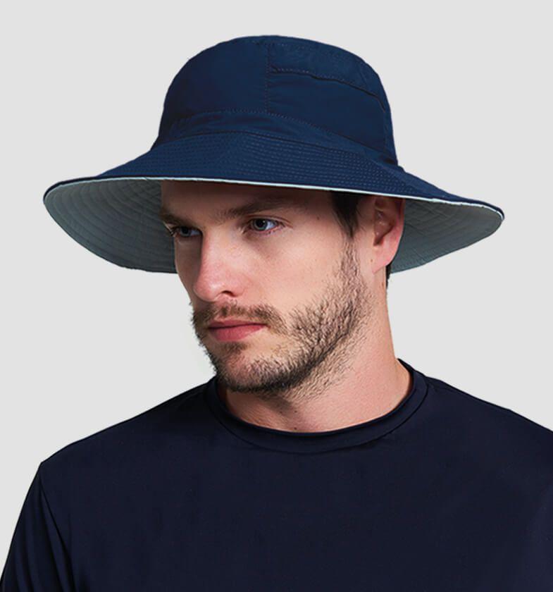 UV LINE Chapéu Austrália Masculino Proteção Solar