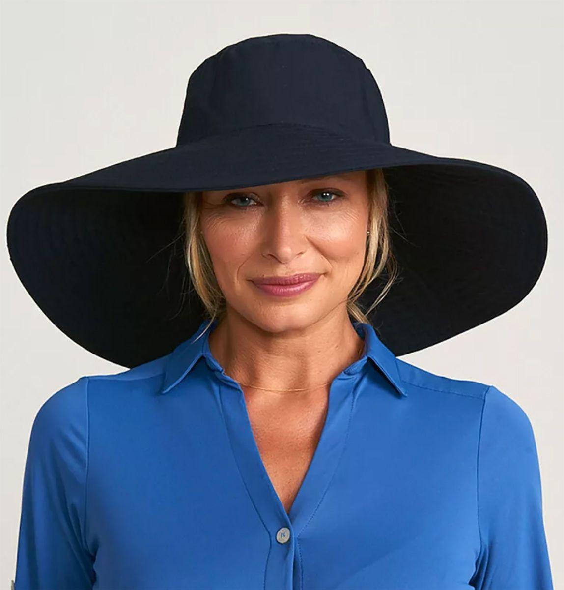 UV LINE Chapéu Beverly Hills Feminino Proteção Solar