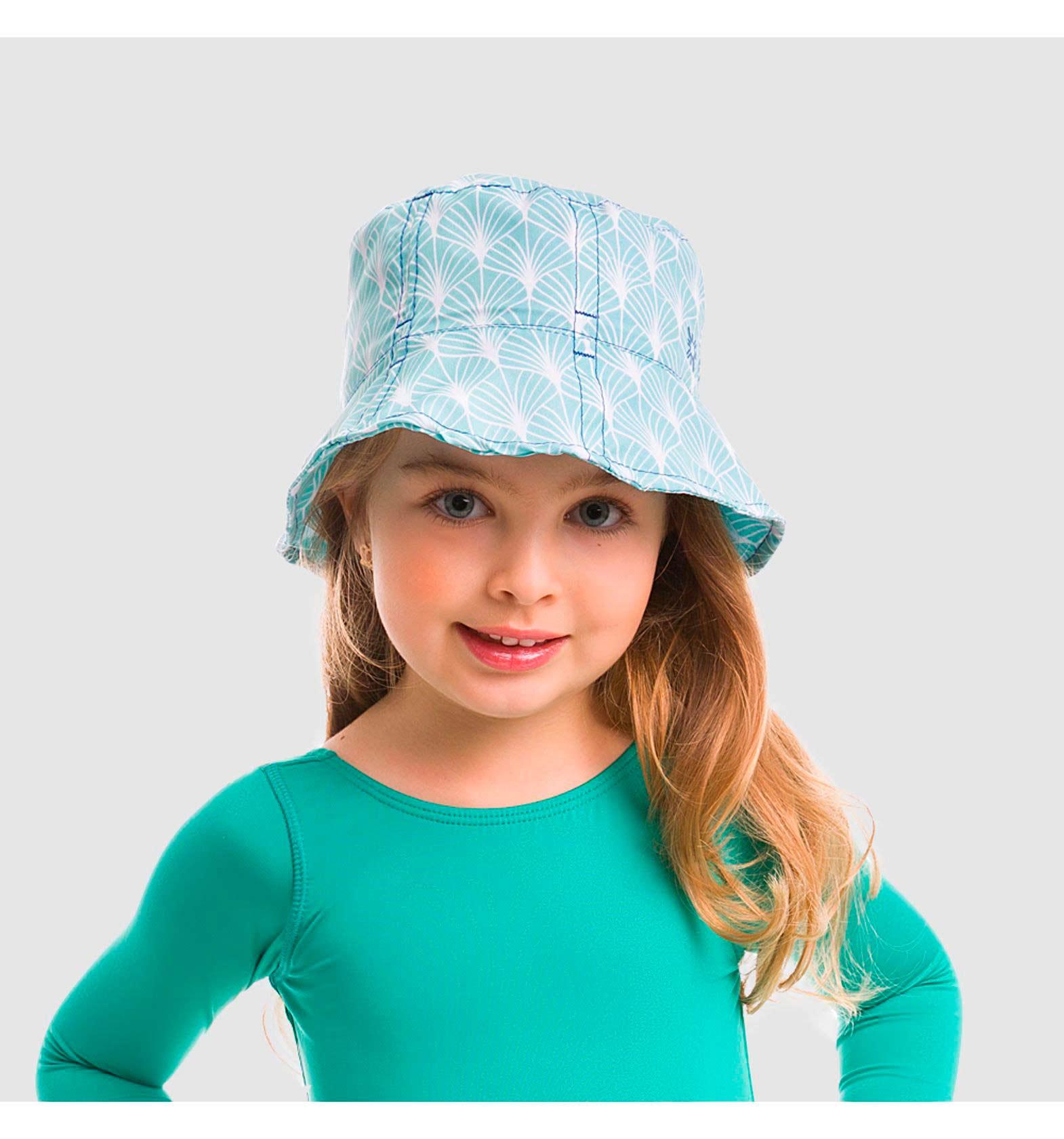 UV LINE Chapéu Napoli Estampado Proteção Solar