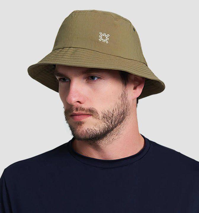 UV LINE Chapéu Toronto Masculino Ocre Proteção Solar