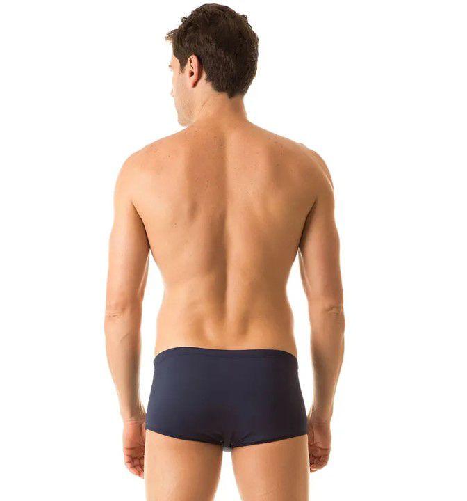 UV LINE Sunga Adulto Masculino Marinho Proteção Solar