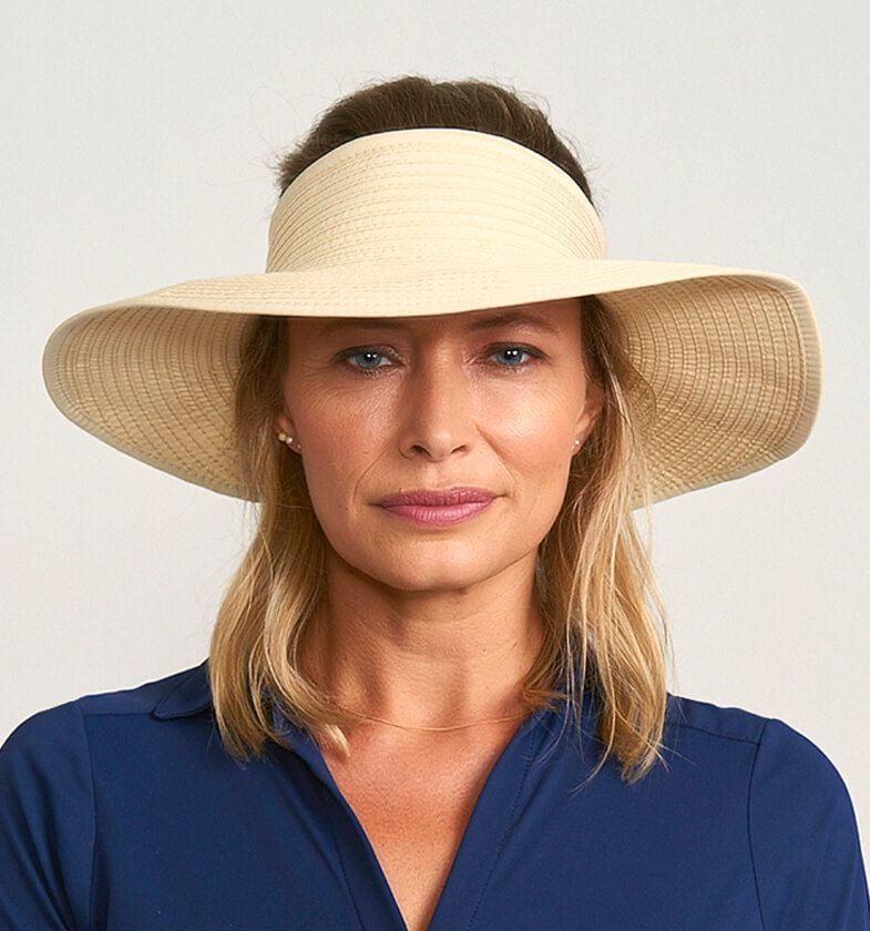 UV LINE Viseira South Beach Feminina Proteção Solar