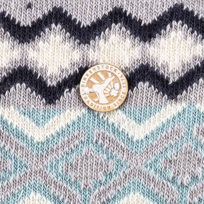 Birkenstock Meia Cotton Jacquard Feminina Abyss