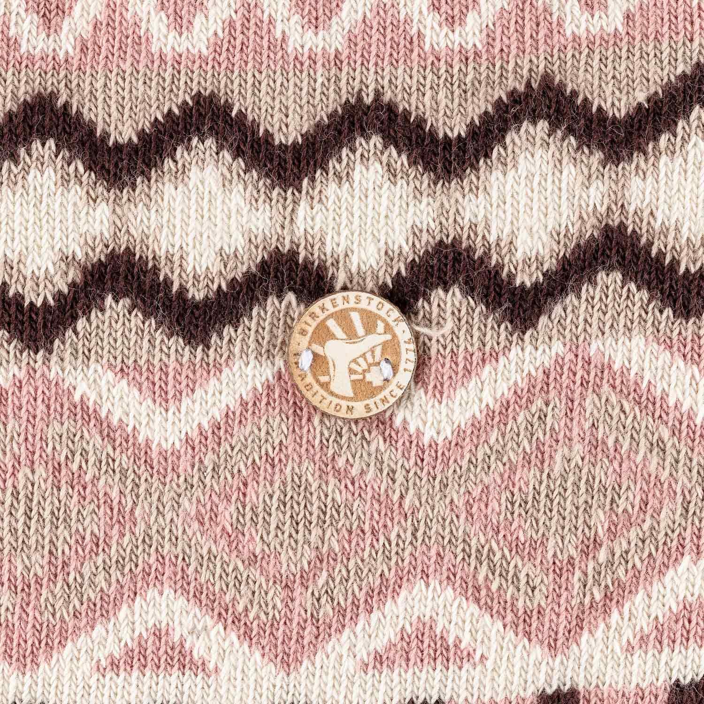 Birkenstock Meia Cotton Jacquard Feminina Misty Rose