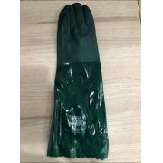 LUVA DE PVC VERDE FORRADA 46CM C.A 37127, M/ VOLK - 102510503G