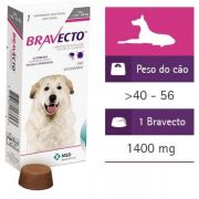 Antipulgas E Carrapatos Bravecto Para Cães De 40 A 56 Kg