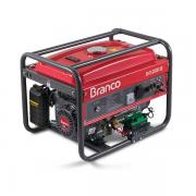 Gerador de Energia à Gasolina B4T-2500 2,2KVA 6,5CV com Partida Manual - BRANCO-90317110