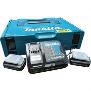 Kit 2 Baterias + Carregador Bivolt 12V 2.0Ah 1976569 MAKITA