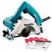 Serra Mármore Makita Mod. 4100NH2Z-L 1.450W  125mm - 220V COM 3 DISCOS