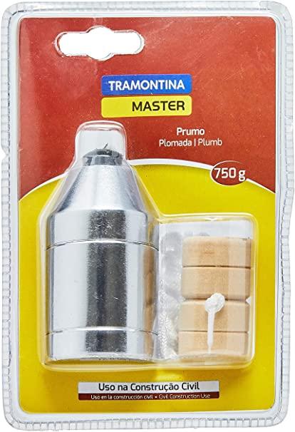 PRUMO DE AÇO 750GR - TRAMONTINA - 43182000