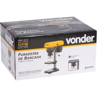 FURADEIRA DE BANCADA 13MM FBV013 220V VD, M/ VONDER - 6001013020