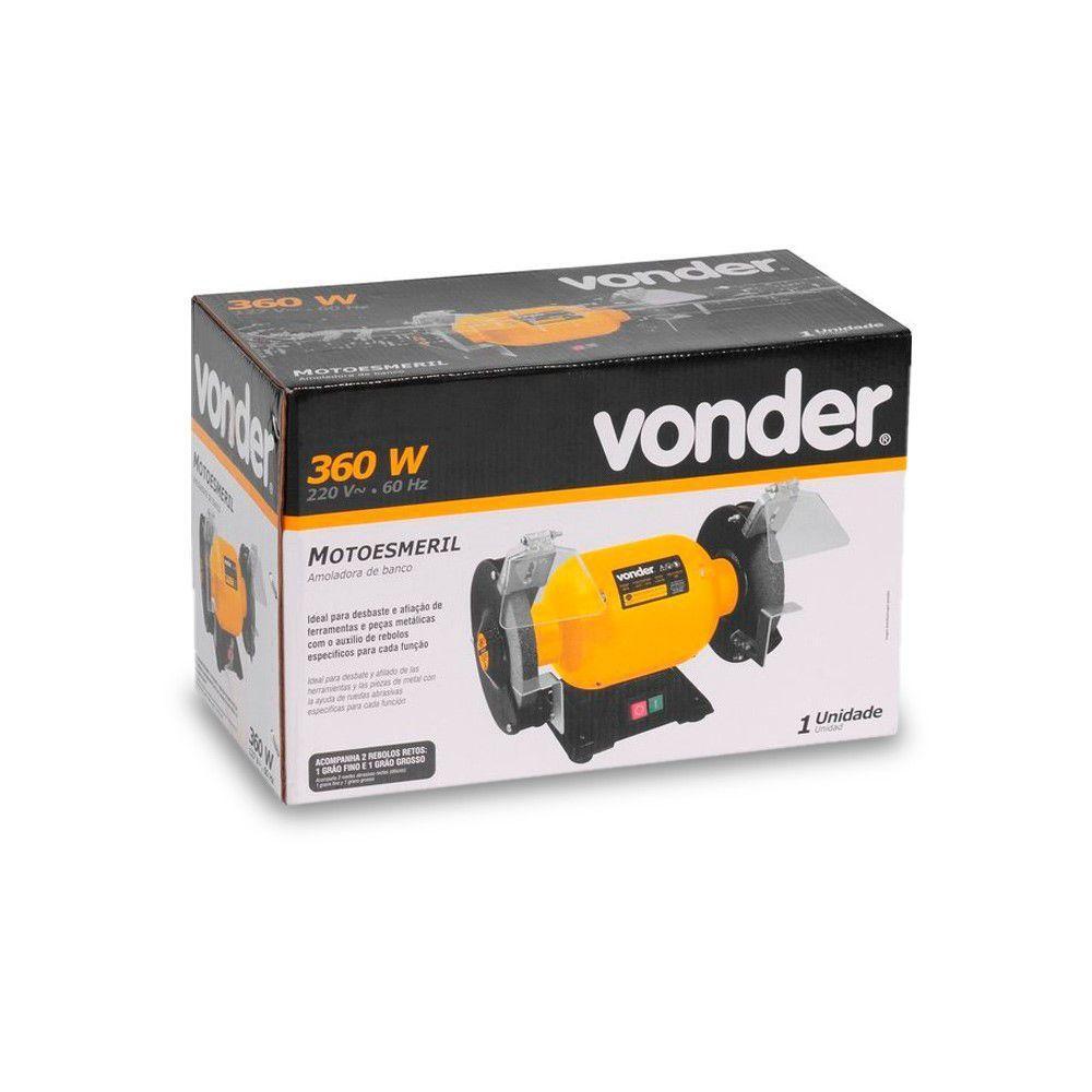MOTOESMERIL 360W MONO 220V VONDER - 6892360220