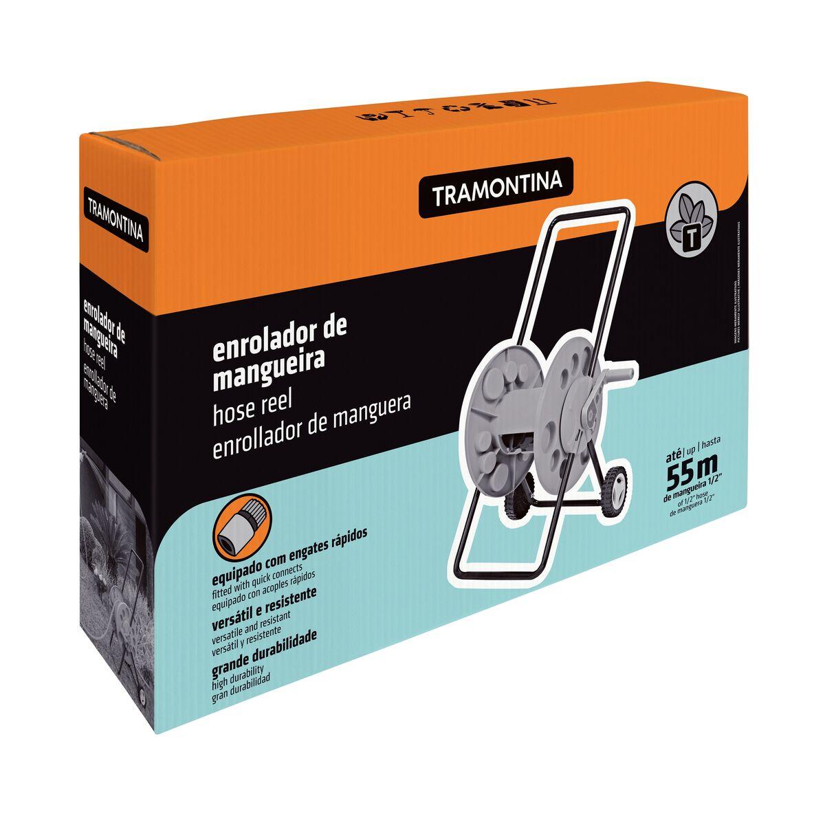 ENROLADOR DE MANGUEIRA COM RODINHAS TRAMONTINA - 78595000