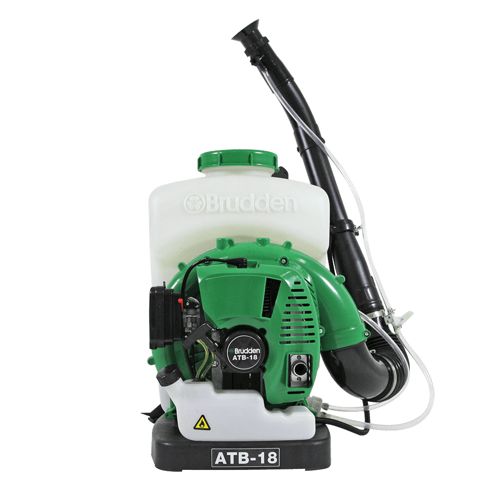 ATOMIZADOR ATB 18 - BRUDDEN -  MOTOR 2T 3,1HP 63,3CC CAP 18 LITROS
