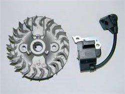 Bobina com Rotor Roçadeira Honda UMK435T - 06310Z0Z305