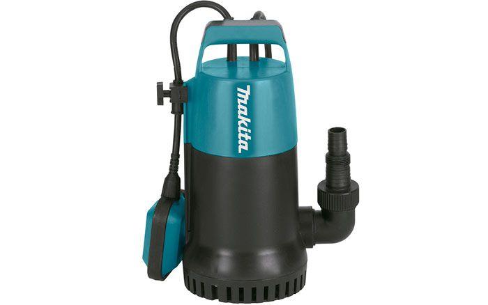 """Bomba submersa 800 watts para """"ÁGUA LIMPA""""  PF0800 Makita 220V"""
