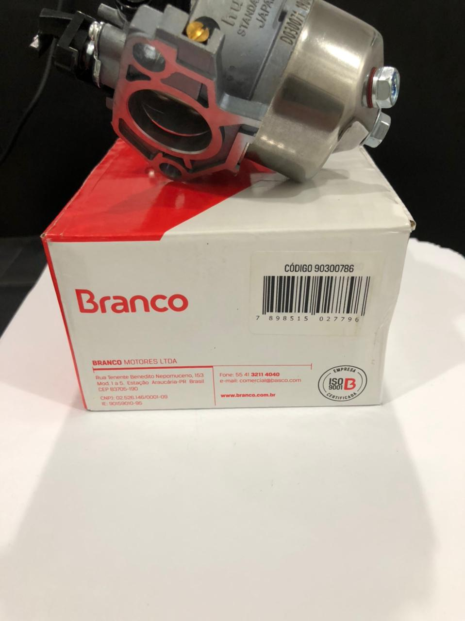 CARBURADOR BRANCO 13 CV B4T - 90300786 - MOTORES BRANCO 13HP
