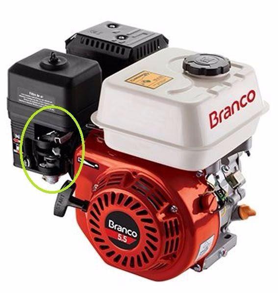 Carburador Motor Estacionario Branco B4T 5.5 / 6.5 CV - 90300780
